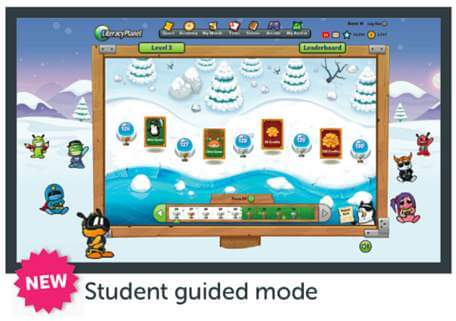 LiteracyPlanet Launches New Student-Guided Mode